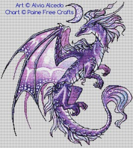 Dragon of a Violet Moon
