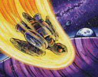 Space Turtle Landing