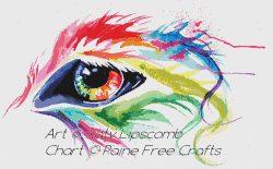 Rainbow Wolf Eye