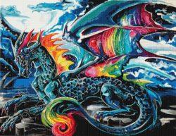 Tie Dye Dragon