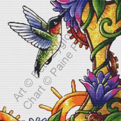 Clockwork Hummingbird