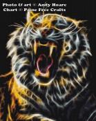 Fractalius Tiger Yawn