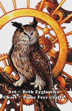 Clockwork Owl