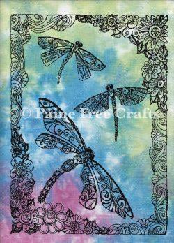 Dragonflies (B&W)