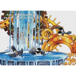 Clockwork Birdbath