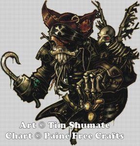Dead Pirate – no background