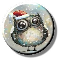 Christmas Owl (Needleminder)