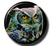 Fractalius Owl (Needleminder)