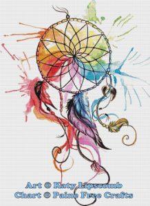Color Wheel Dreamcatcher