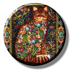Tapestry Cat (Needleminder)