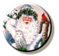 Blue Santa (Needleminder)
