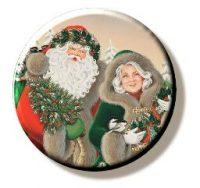 Mr & Mrs Claus (Needleminder)