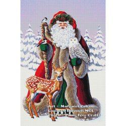 Snowy Owl Santa