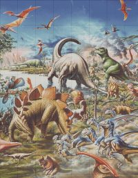 Dinosaur Montage