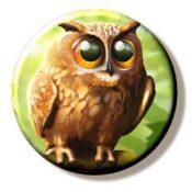 Eurasian Eagle Owl (Needleminder)