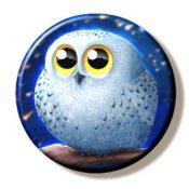 Snowy Owl (Needleminder)