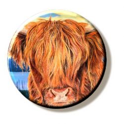 Highland Coo (Cow) (needleminder)
