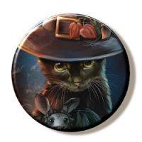 Halloween Kitty (Needleminder)