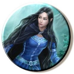 Luthien Runs Away (Needleminder)