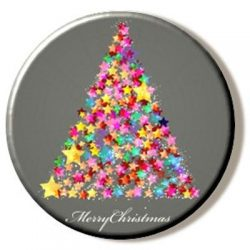 Multicoloured Christmas Tree (Needleminder)