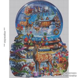 Christmas Snow Globe (SUPER SIZE)