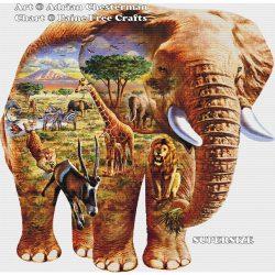 Elephant Puzzle (SUPER SIZE)