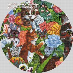 Kitty Garden (Circular crop)