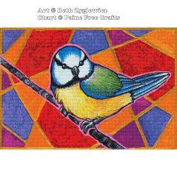 Birdazzled – Blue Tit