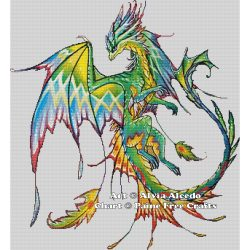 Tropical Forest Dragon